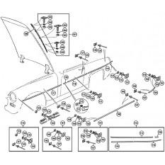Mouldings & Fittings - Sprite IV & Midget III, 1500cc