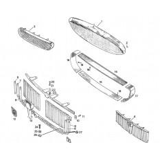 Grilles & Fittings - Sprite I, II, III & Midget I, II