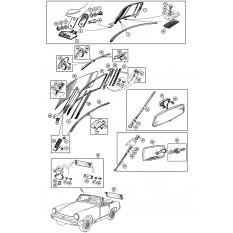 Windscreen - Sprite IV & Midget III-1500 (1966-79)