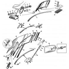 austin healey steering austin healey interior wiring