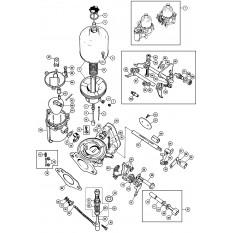 Carburettors: HS2 SU - Sprite IV & Midget III (1967-74)