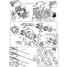 Heater & Fresh Air System - Sprite IV & Midget III-1500 (1958-66)