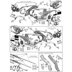 Heater & Fresh Air System - Sprite IV & Midget III-1500 (1967-79)