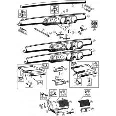 Dashboard - Sprite IV & Midget III-1500 (1967-79)