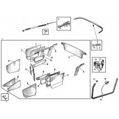 Interior Trim Kits: Sprite II & Midget I