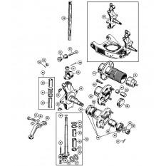 Front Hub & King Pin - Sprite IV & Midget III-1500 (1967-79)