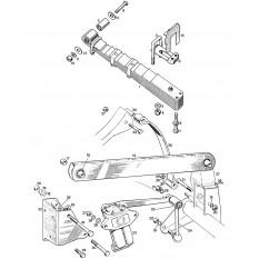 Rear Suspension: 1/4 Elliptic - Sprite I, II & Midget I