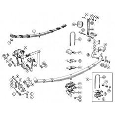 Rear Suspension - Sprite IV & Midget III, 1500cc