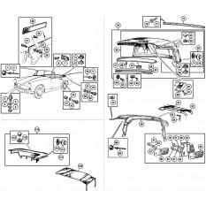 Hood, Frame & Fittings - Sprite IV & Midget III-1500 (1966-79)
