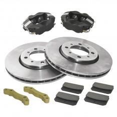 4 Pot Caliper Brake Conversion Kit