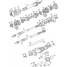 Internal Gearbox: Single Rail - Spitfire 1500 (1974-80)