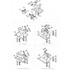 Engine & Gearbox Mountings - Spitfire MkI-1500 (1962-80)