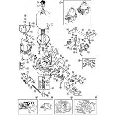 Carburettors: HS2 - Spitfire MkI-1500 (1962-80)