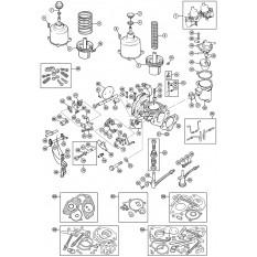 Carburettors: HS4 - Spitfire MkI-1500 (1962-80)