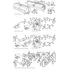 Fuel Tank, Pipes & Pump - Spitfire MkI-1500 (1962-80)