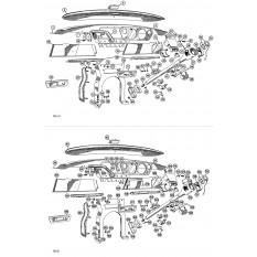 Dashboard, Crashpads & Gloveboxes - Spitfire MkI-III (1962-70)