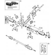 Steering Rack - Spitfire MkI-1500 (1962-80)