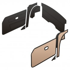 Interior Trim Kits - TR6 (From CR5001/CF12501 On)
