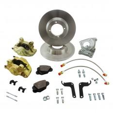 Brake Disc Conversion Kit, MGA calipers