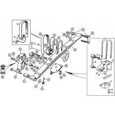 Rear Suspension: TR2-3A, TR4