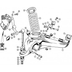 Rear Suspension: TR4A With IRS Axle