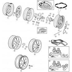 Road Wheels - TR5-6 (1967-76)