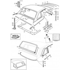 Hard Top & Fittings - TR6