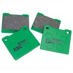 Brake Pad Set, EBC Greenstuff