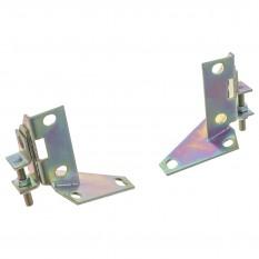 Brackets, radius arms, adjustable camber, pair