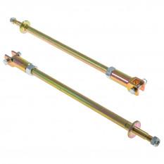 Tie Bar Set, adjustable, heavy duty, pair