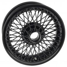 """Wire Wheel, black, 15"""" x 5"""", 72 spoke"""
