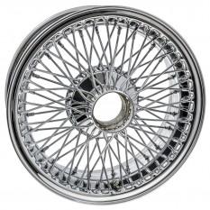 """Wire Wheel, chrome, 15"""" x 6"""", 72 spoke"""