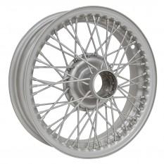 """Wire Wheel, painted, 15"""" x 4"""", 48 spoke"""
