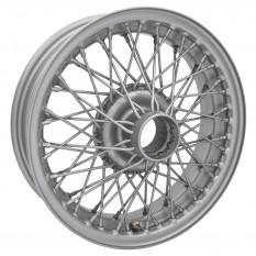"""Wire Wheel, painted, 15"""" x 4.5"""", 60 spoke"""