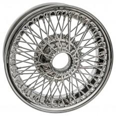 """Wire Wheel, stainless steel, 15"""" x 5"""", 72 spoke"""
