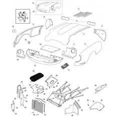 Front Body Panels - E-Type (1961-1971)