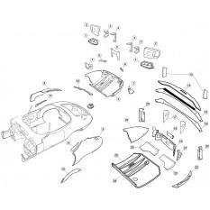 Rear Body Panels - E-Type Roadster (1961-1971)