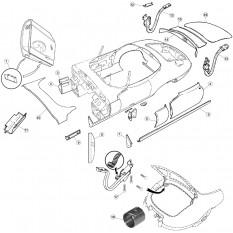 Rear Body Fittings - E-Type Roadster (1961-1971)