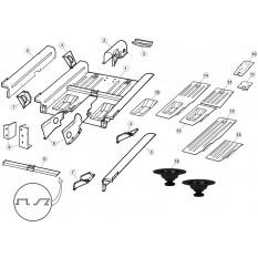 Rear Floor Panels - E-Type (1961-1971)