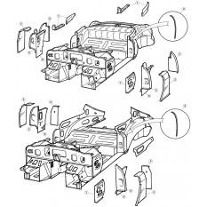 Inner Body Panels - E-Type (1961-1971)