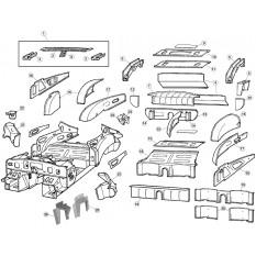 Inner Body Panels, Upper - E-Type (1961-1971)