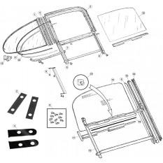 Door Windows - E-Type FHC & OTS (1961-1975)