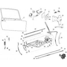 Door Fittings - E-Type FHC & OTS (1961-1968)