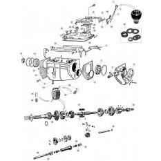 Gearbox, Non-Synchro - E-Type 3.8 (1961-1968)