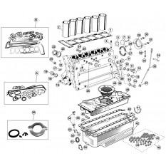 External Engine 6-Cylinder - E-Type (1961-1971)