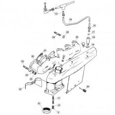 Exhaust Manifolds, V12 - E-Type (1971-1975)