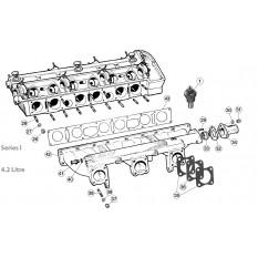 Intake Manifolds - E-Type 4.2 (1967-1968)
