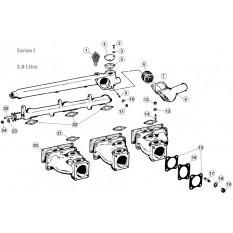 Intake Manifolds - E-Type 3.8 (1961-1968)