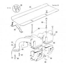 Inlet Manifolds, V12 - E-Type (1971-1975)