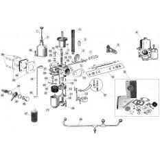 S.U. HD8 Carburettor Components - E-Type (1961-1975)